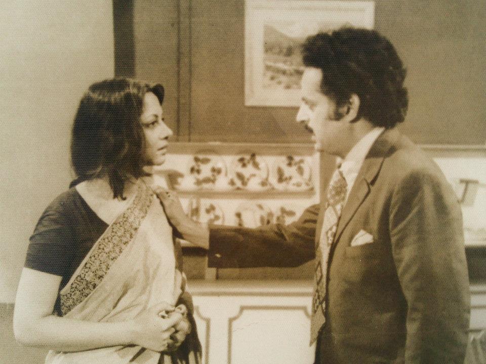 """A scene from """"Aik Mohabat 100 Afsanay"""" - Tarar sb with Rohi Bano"""