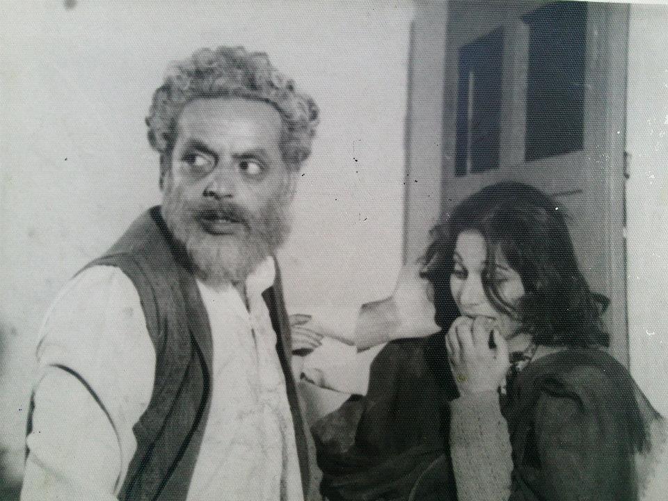 Mustansar Hussain Tarar and Tahira Naqvi