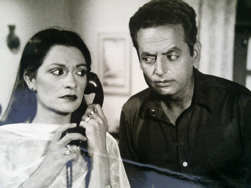 A scene from Patras Bukhari's Comedy Play - Tarar sb with Samina Ahmed
