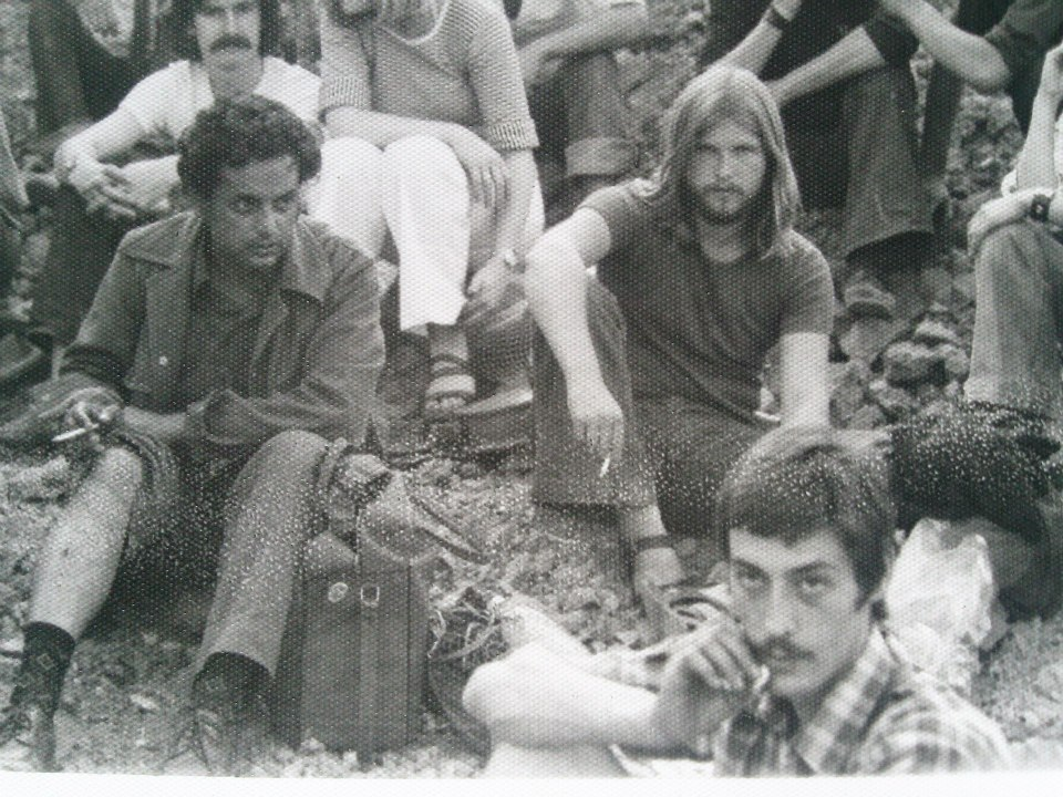 After the bus crash waiting for the help to arrive. (circa 1975)