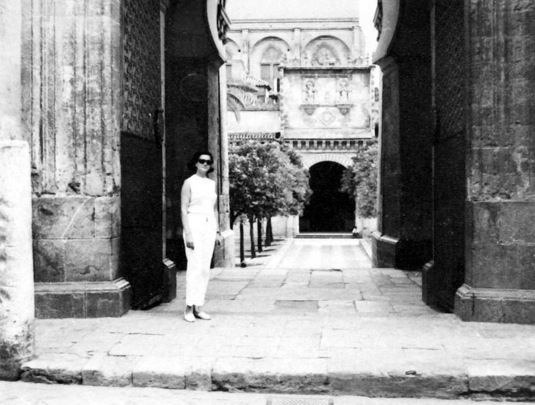 Outside Masjid Qartaba Spain (The Mosque–Cathedral of Córdoba) - Najila Saad